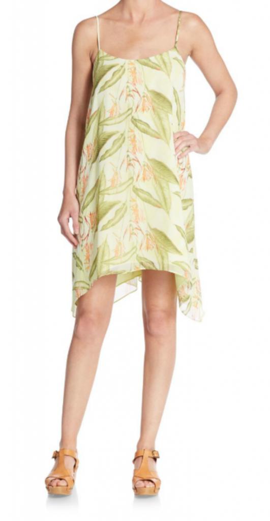 Tanger Outlets_Green Dress