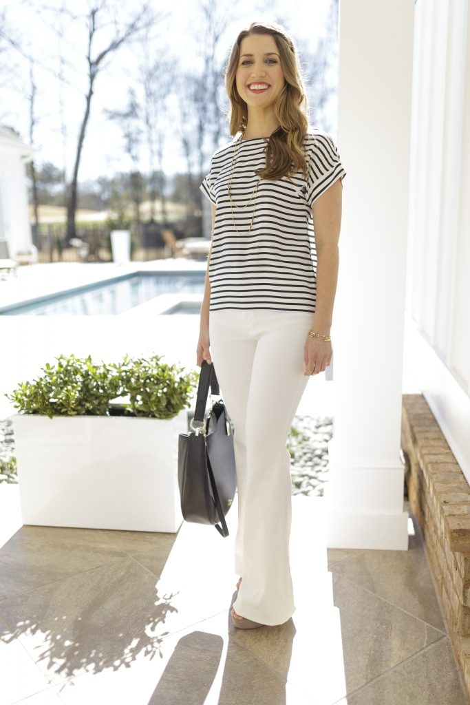 Tanger Outlets_Striped Shirt