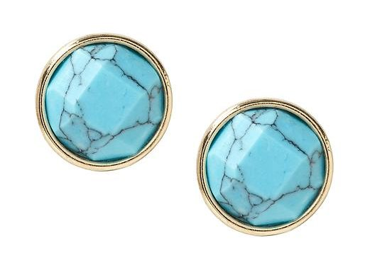 Tanger Outlets_Turquoise Earrings