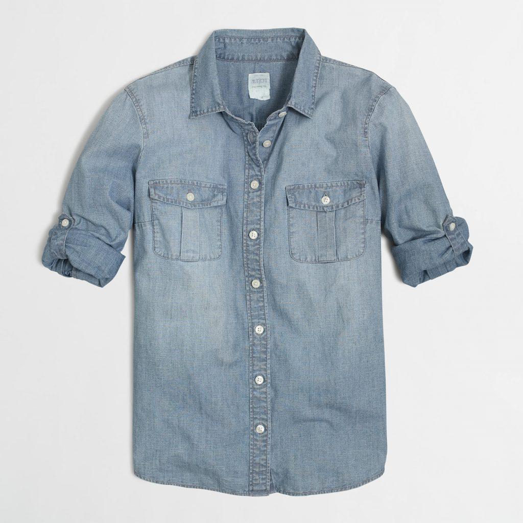 TangerOutlets_J.Crew Denim Shirt